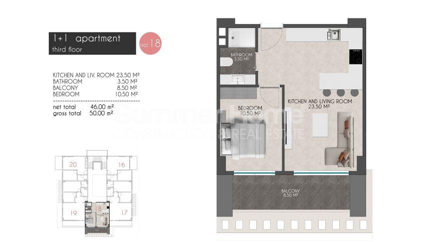 凯斯特尔的迷人海滨公寓 plan - 8