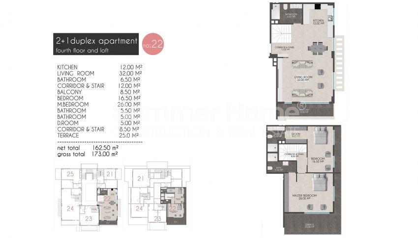 凯斯特尔的迷人海滨公寓 plan - 9