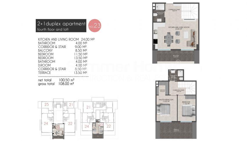凯斯特尔的迷人海滨公寓 plan - 10