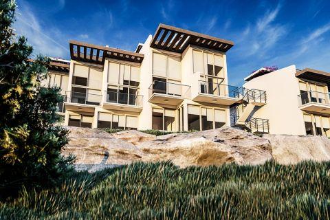 Coastal properties in Esentepe, Cyprus