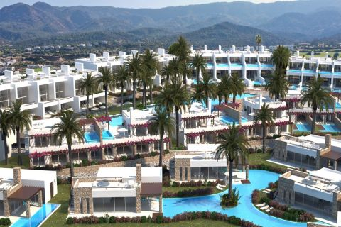 Spacious apartments with Jacuzzi in Esentepe