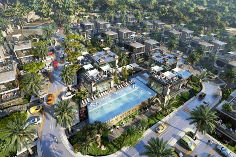 Two-bedroom spacious apartments in Esentepe