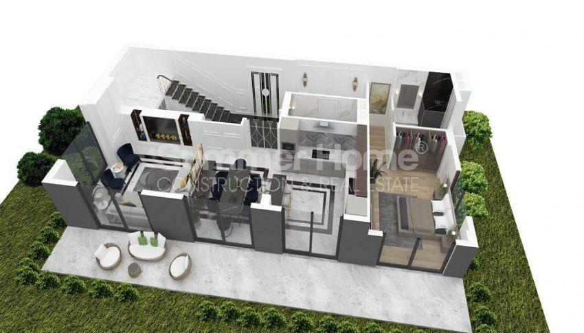 Geräumige Villa mit Meerblick in Bektaş plan - 5
