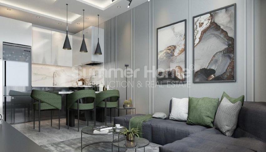 آپارتمانهای مناسب تعطیلات در منطقه آرام آوسالار، آلانیا interior - 8
