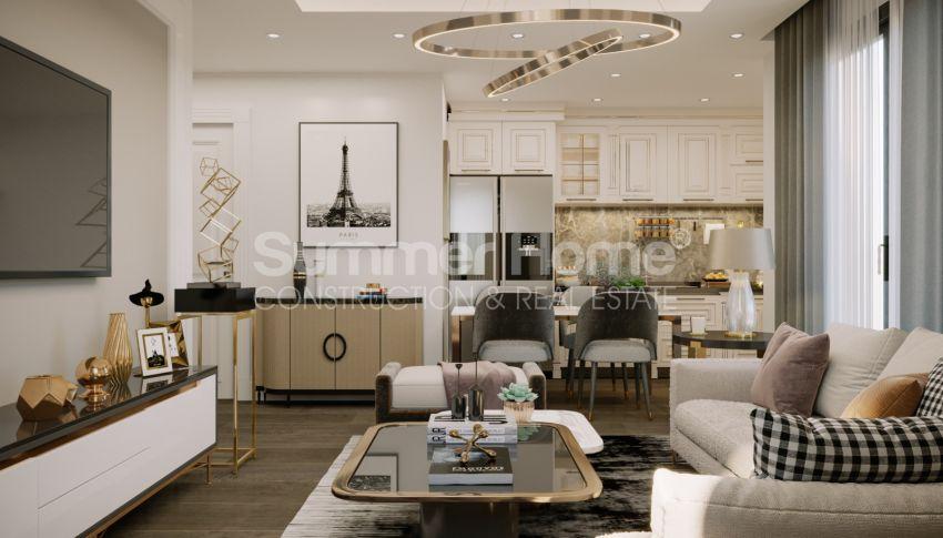 Brandneue Apartments in einer günstigen Gegend in Mahmutlar interior - 9