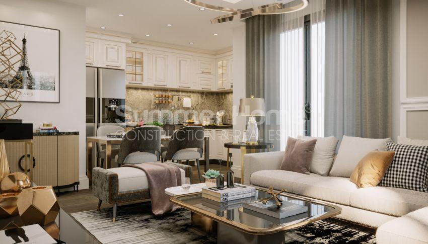 Brandneue Apartments in einer günstigen Gegend in Mahmutlar interior - 11
