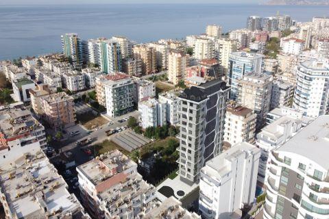Apartments ina high-rise buildingin Mahmutlar