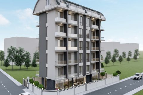Affordable new apartments in Mahmutlar