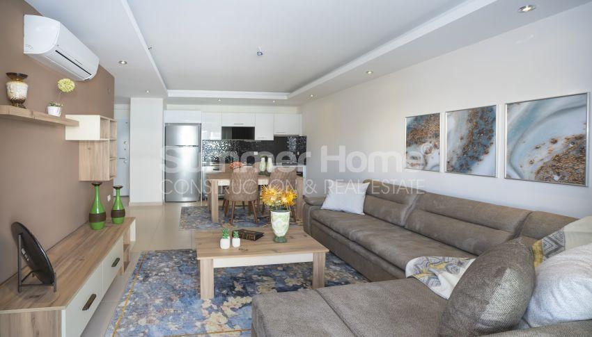 Wohnung mit Poolblick zu vermieten in Kestel, Alanya interior - 8