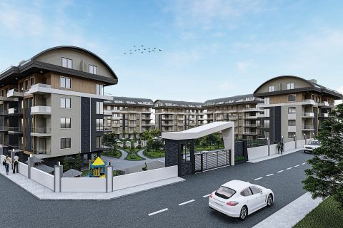 many new apartments in Oba, Alanya
