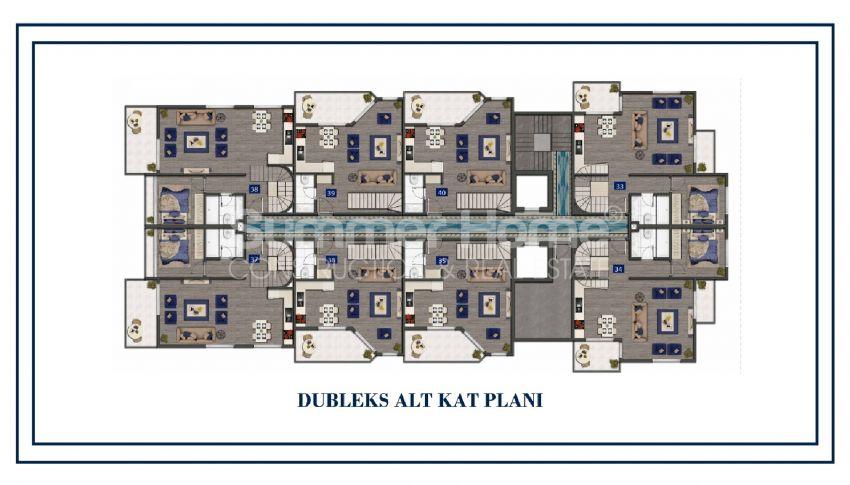 Preiswerte Apartments am Meer plan - 4