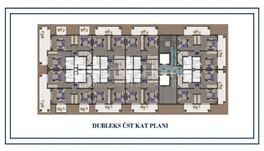 Preiswerte Apartments am Meer plan - 5