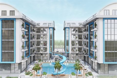 New apartments surrounded by nature in Oba, Alanya