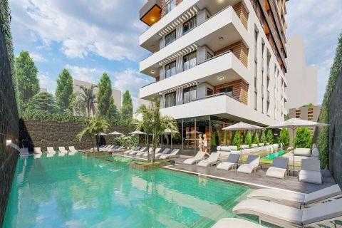 new affordable residential apartments in Mahmutlar