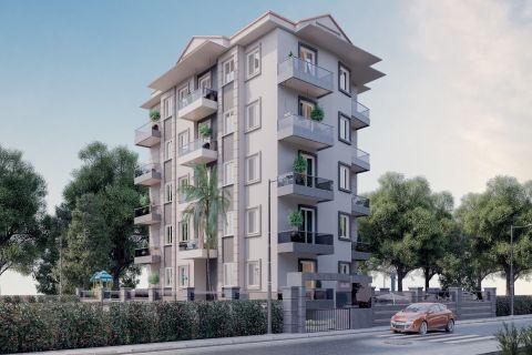 Projekt s ekonomickými apartmánmi v Mahmutlari