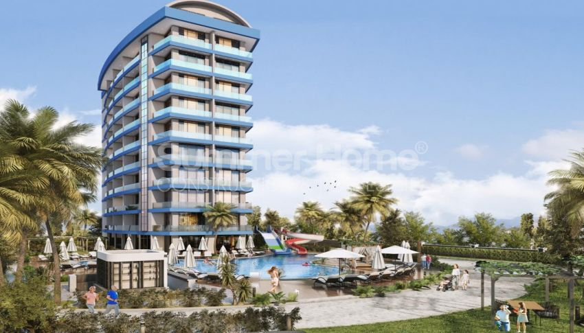 مشروع مبنى واحد مع شقق بغرفة نوم واحدة في أفسالار general - 2