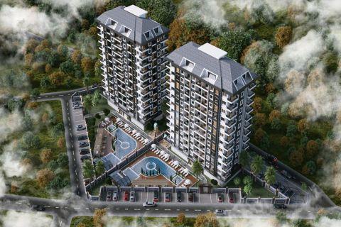 Spektakulära lägenheter i gröna omgivningar