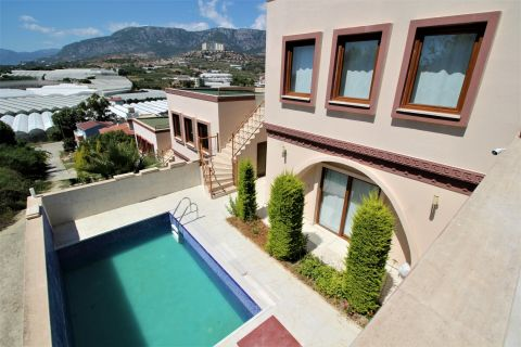 refurbished two-bedroom villa with privately owned swimming pool