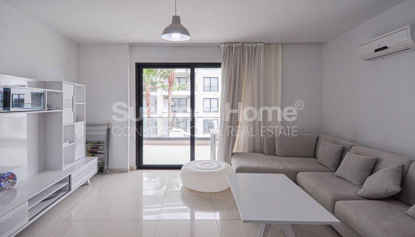 شقة مؤثثة بغرفة نوم واحدة في مجمع فاخر interior - 5