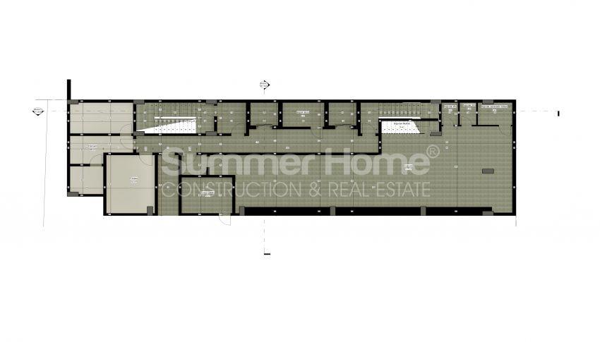 شقة بغرفة نوم واحدة بأسعار معقولة في أفسالار plan - 2