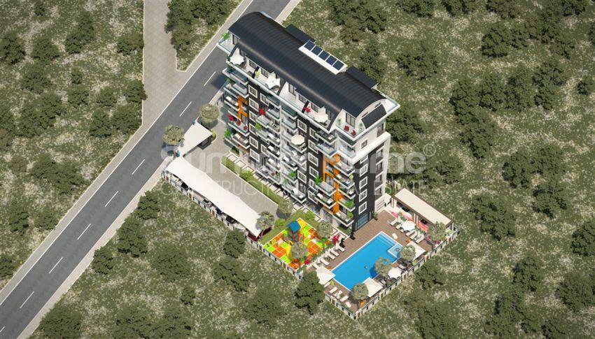 مشروع جديد من مبنى واحد يوفر شققًا مريحة في أفسلار general - 9